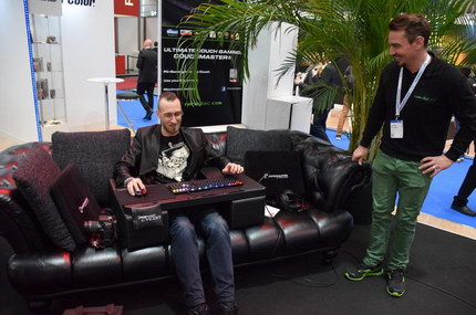 Der Couchmaster Cycon in Aktion