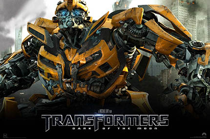 Transformers Filmecover (Copyright by Hasbro)