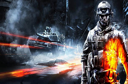 Battlefield 3 Spielecover (Copyright by EA - Electronic Arts)
