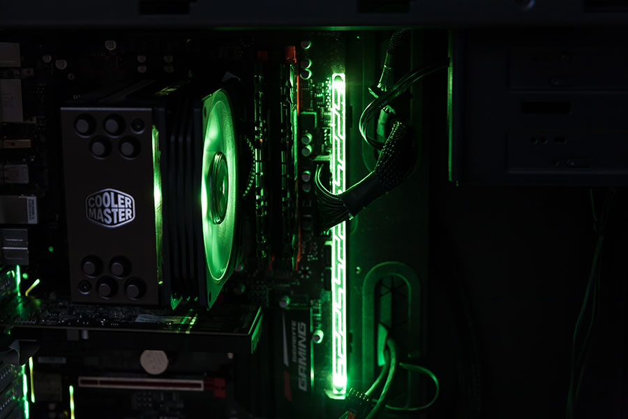 Cooler Master Hyper 212 RGB Black Edition im Test