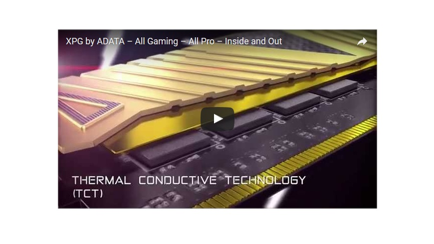 XPG by ADATA – All Gaming – All Pro – Inside and Out